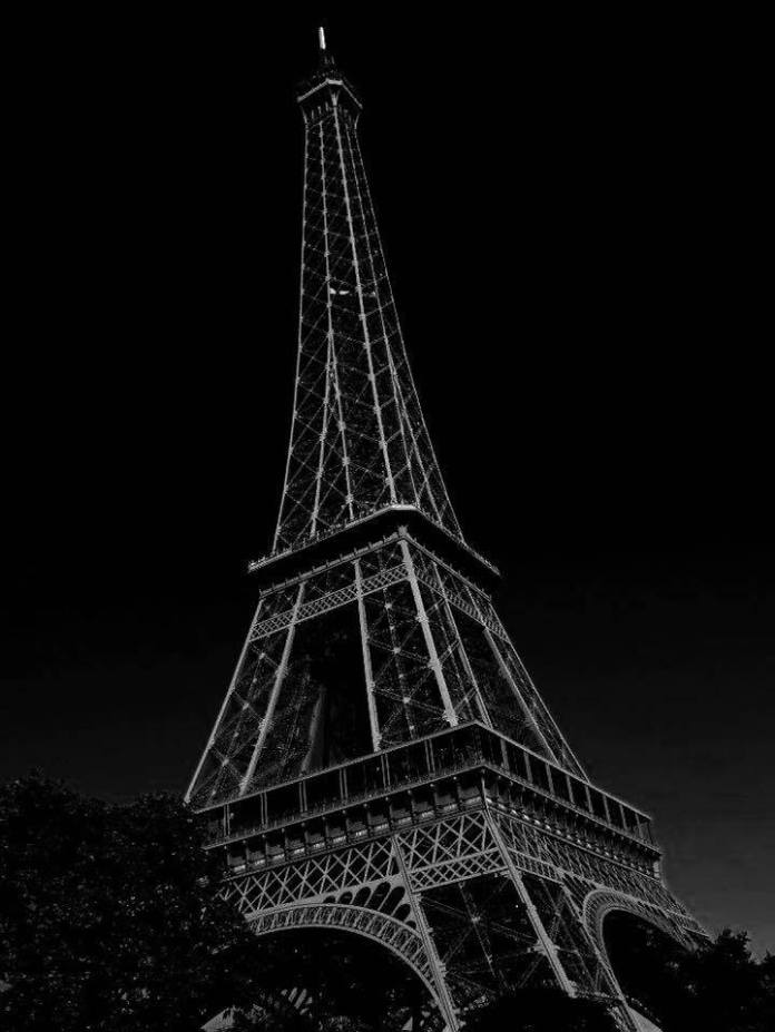 La tour Eiffel pendant notre dernier visite.