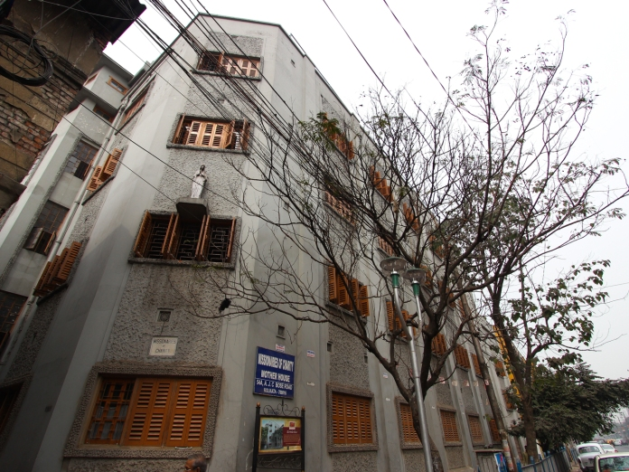 Mother House in AJC Bose Road, Calcutta