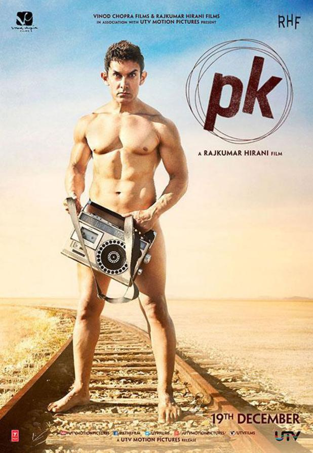 Poster for the film PK, which became the biggest grossing film in India