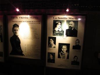 Exhibition of Thérèse de Lisieux and her life