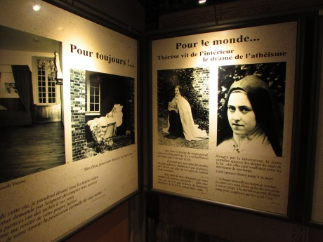 Exhibition of Thérèse de Lisieux and her life